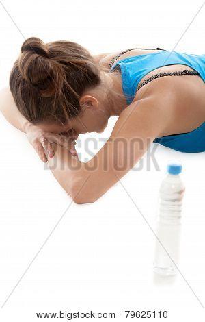 Yoga Girl Resting