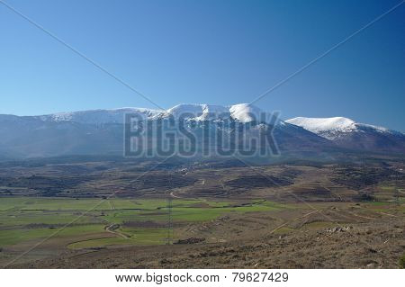 Moncayo summit, Zaragoza, Aragon, Spain