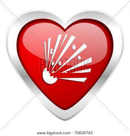 bomb valentine icon