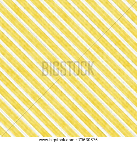 Yellow And White Striped Pattern Repeat Background
