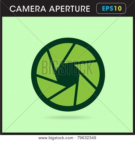 Simple icon Camera objective