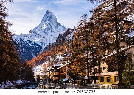 Amazing Zermatt city, Switzerland