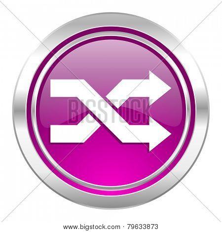 aleatory violet icon