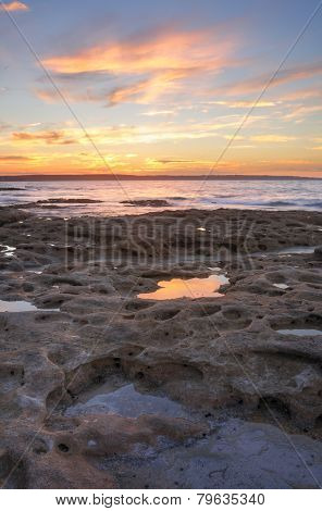 Sunset From Murrays Beach Jervis Bay