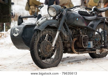 Bmw R75 Motorcircle