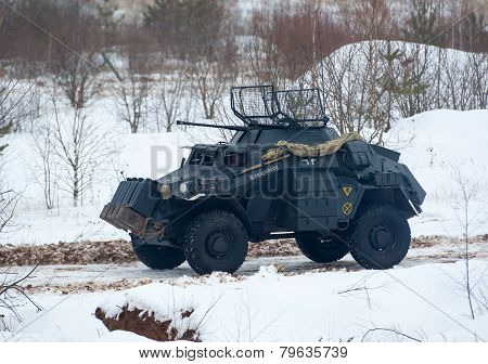 Light Armored Reconnaissance Sd.kfz.222