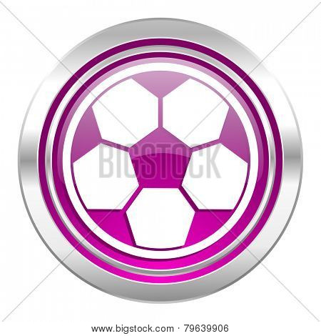 soccer violet icon football sign