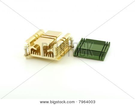 Two Radiators For Chip (computer).