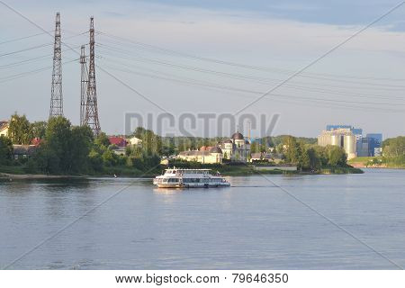 View Of Neva River