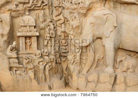 India - Arjunas Penance