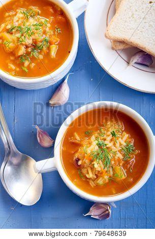 Chunky Butternut Mulligatawny Soup