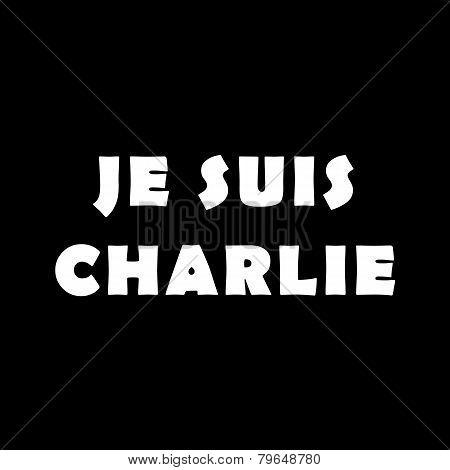 Je Suis Charlie Bw