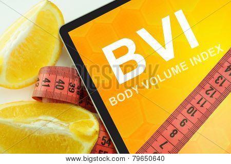 Body volume index BVI