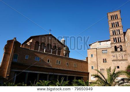 Basilica Di Santi Giovanni E Paolo In Rome