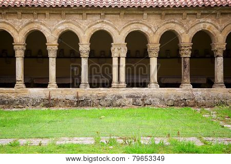 Cloister In Santillana Del Mar, Spain