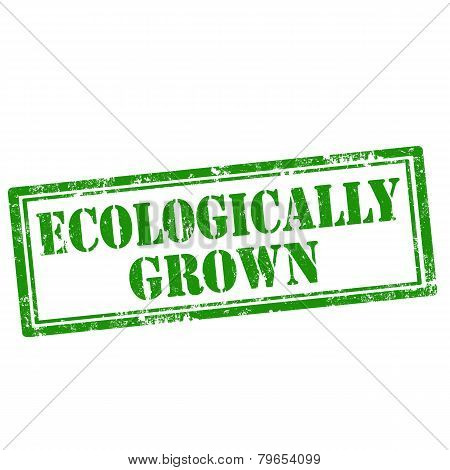 Ecologically Grown-stamp