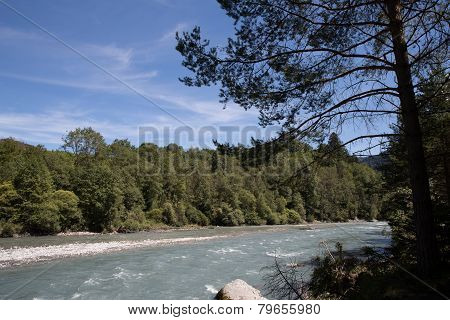 Rhine in the Alps