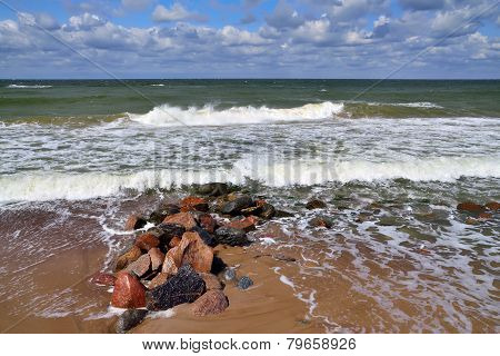 Baltic Surf And Breakwater