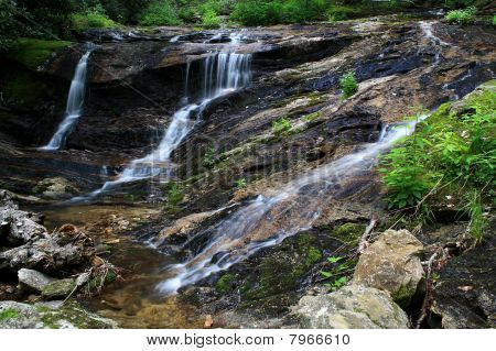 Triple Falls on North Prong Shining Creek