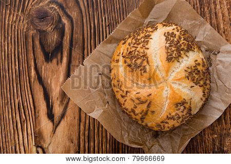 Fresh Baked Rolls (with Caraway)