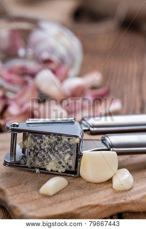 Fresh Pressed Garlic