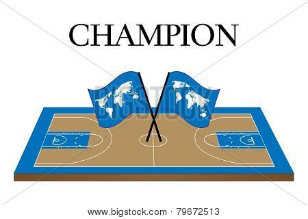 Basketball Champion Court World