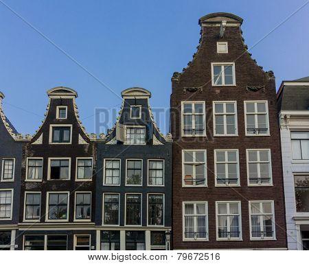 Dutch Buildings In Amsterdam