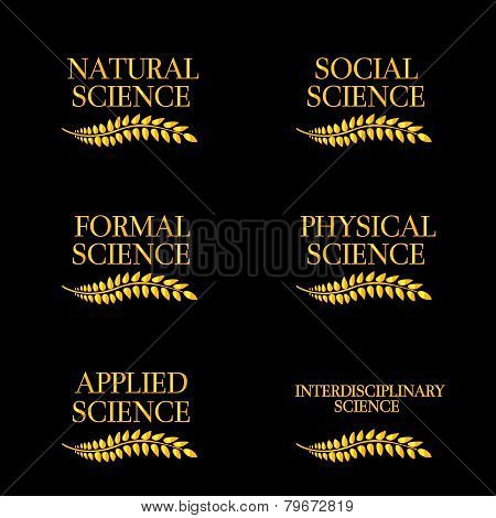 Kinds Of Science Laurels 4