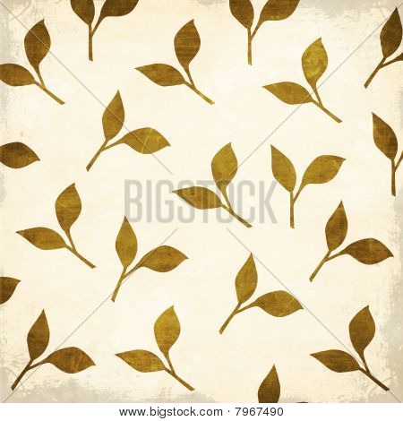 Cherry Blossom Collection Leaf Pattern Texture Background