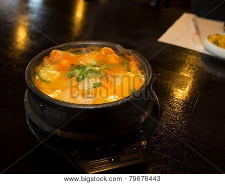 Soon Du Boo Soup In Korean Cuisine