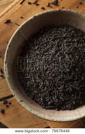 Dry Black Loose Leaf Tea