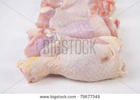 Raw Chicken Little Legs