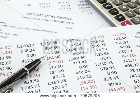 Calculate Income Statement