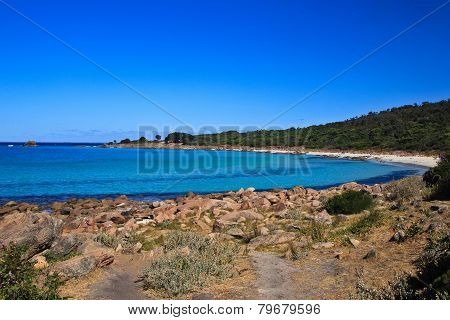 Coastline near Sugarloaf Rock, Western Australia