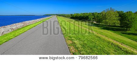 Carlyle Lake Bike Path Illinois