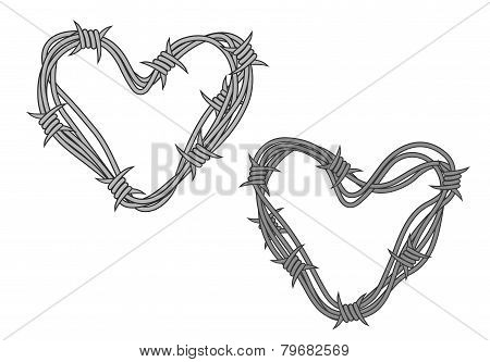Barbwire hearts