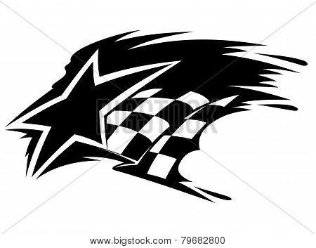 Motor sport icon
