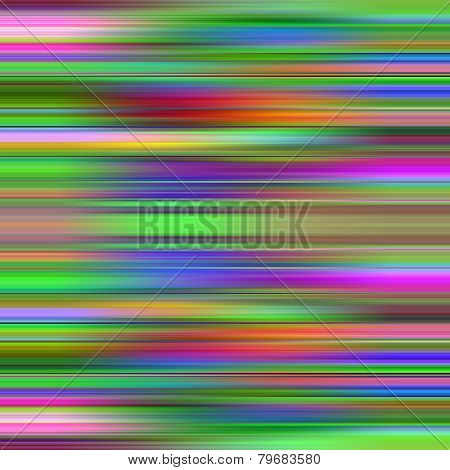Multicolored graduated stripes pattern illustration.