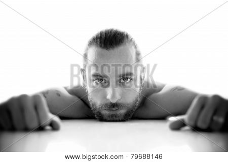 Emotional Portrait of a Man