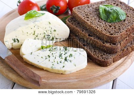 Soft Cheese With Herbs