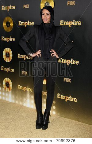 LOS ANGELES - JAN 6:  Azmarie Livingston at the FOX TV