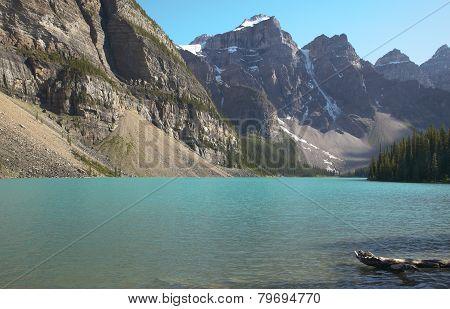Moraine Lake Landscape. Alberta. Canada.