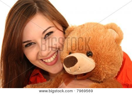 Pretty Woman And Bear