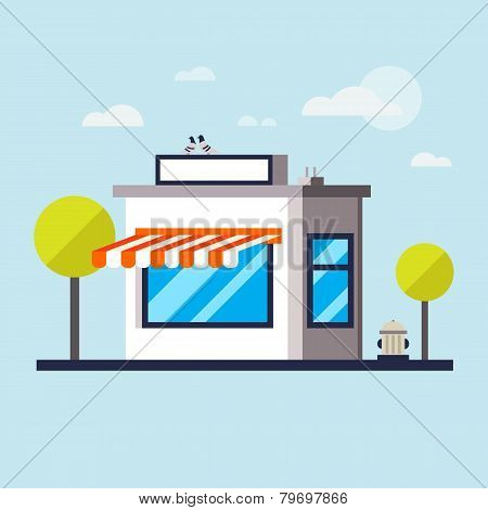 Flat Design Modern Vector Illustration