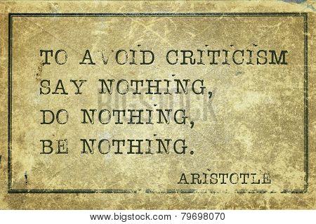 Criticism Print