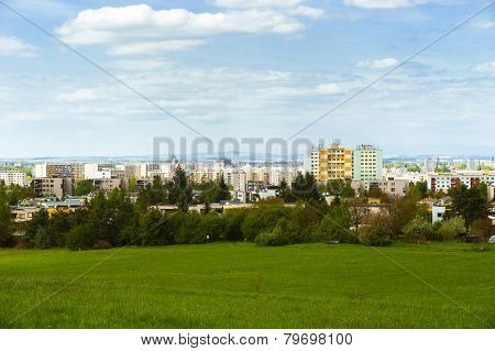 View Of The City Of Hradec Kralove