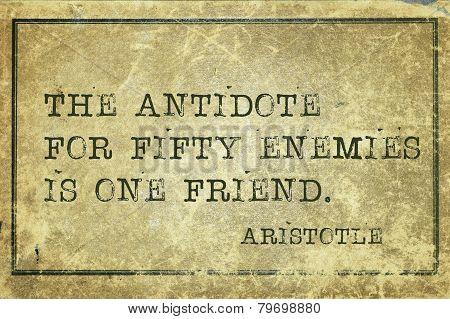 Enemies Print