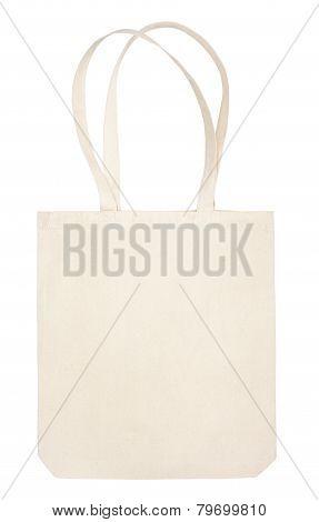 Fabric Eco Bag On White