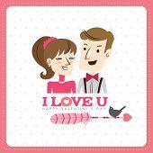 stock photo of xoxo  - Happy Valentine - JPG