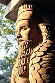 picture of iranian  - It is an Angel that is found outside a fire temple of Parsi  - JPG